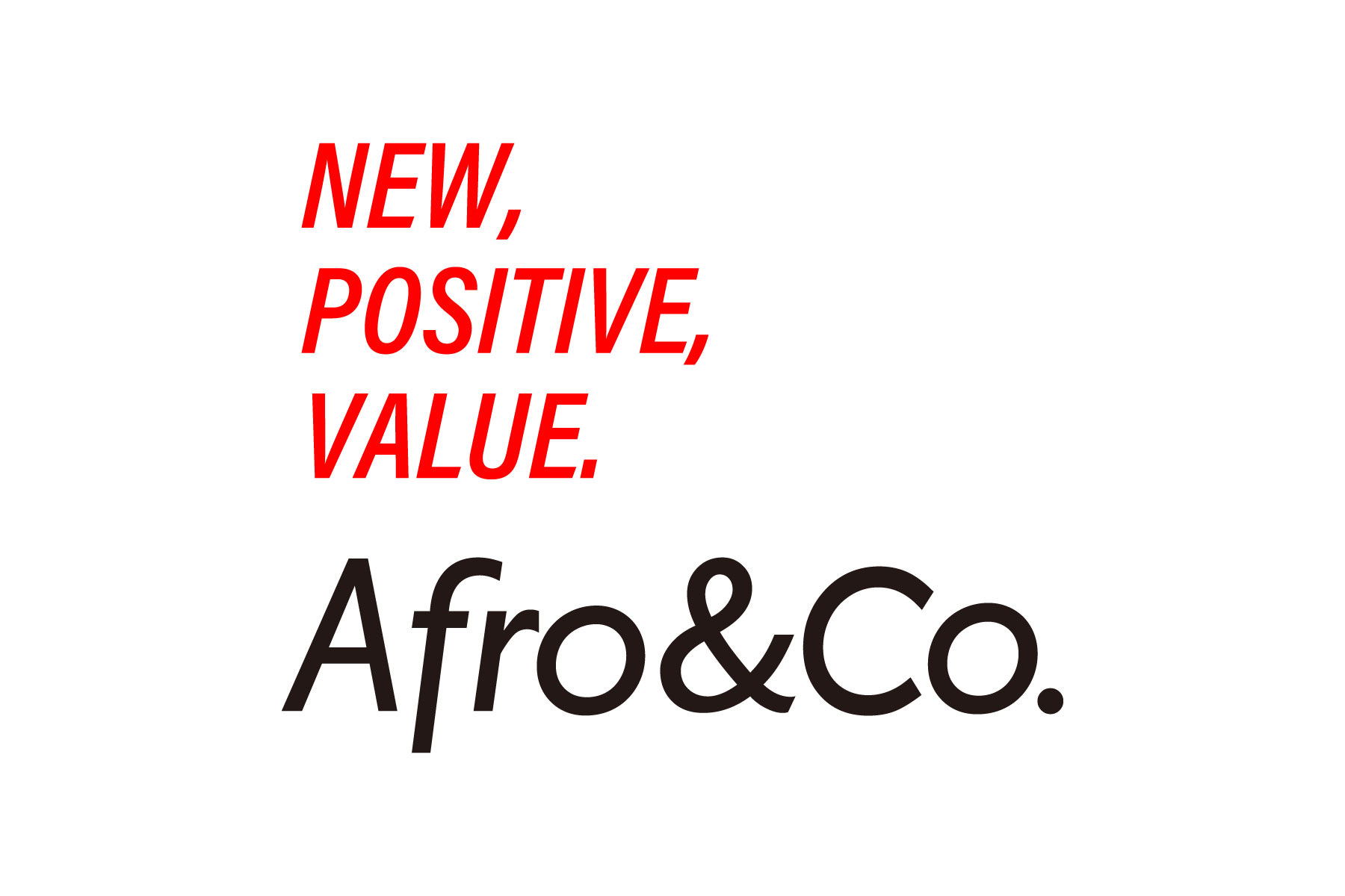これからのAfro&Co.について
